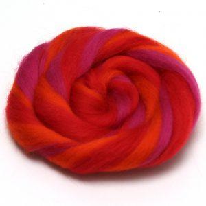 červenorůžové