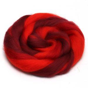 tmavočervené