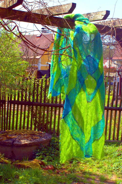 handmade šál