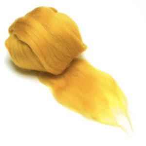 jantarově žlutá