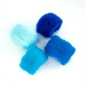 paleta modré vlny